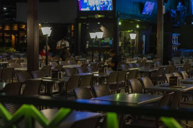 Restaurantes e bares estão fechados desde 20 de março