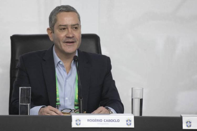 Rogério Caboclo, presidente da CBF (Foto: Lucas Figueiredo / CBF)
