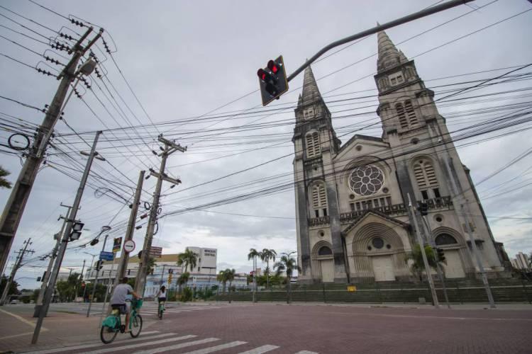 Catedral de Fortaleza (Foto: Aurelio Alves)