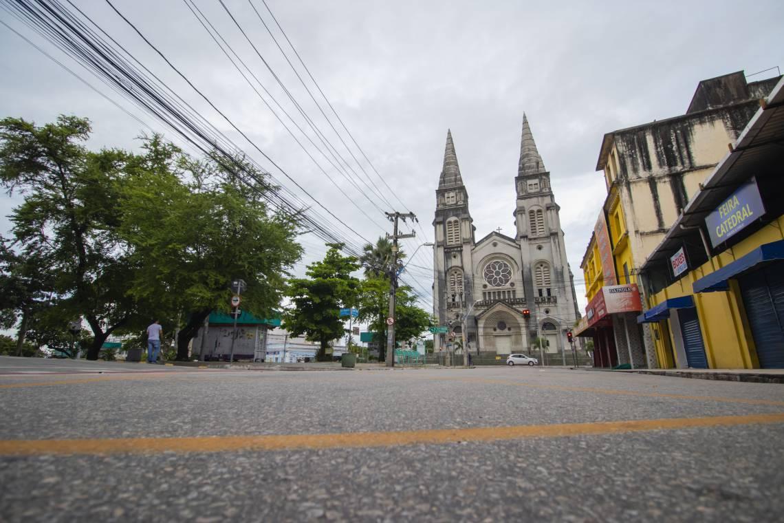 Catedral Metropolitana de Fortaleza permanece fechada