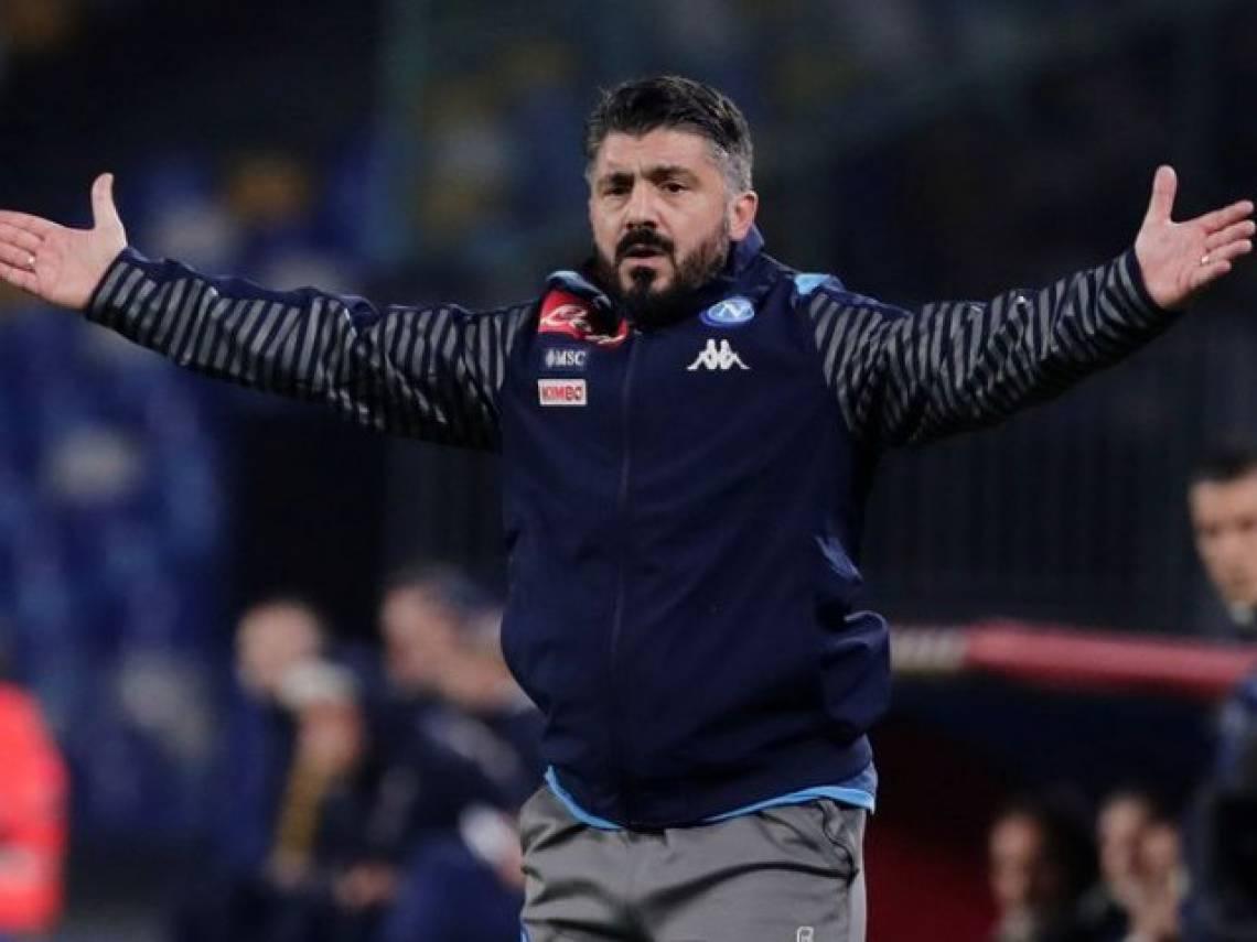 Gennaro Gattuso é o atual técnico do Napoli
