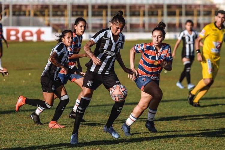 Clássico-Rainha irá ocorrer na segunda rodada do Campeonato Cearense Feminino (Foto: Felipe Santos/Ceará SC)