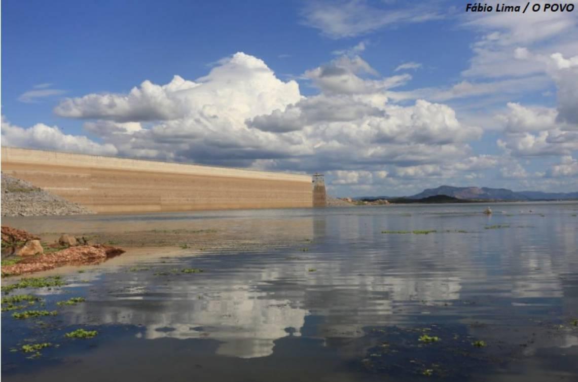 O Ceará começa 2021 com um quarto da sua capacidade hídrica total após o ano de melhor aporte hídrico desde 2012.