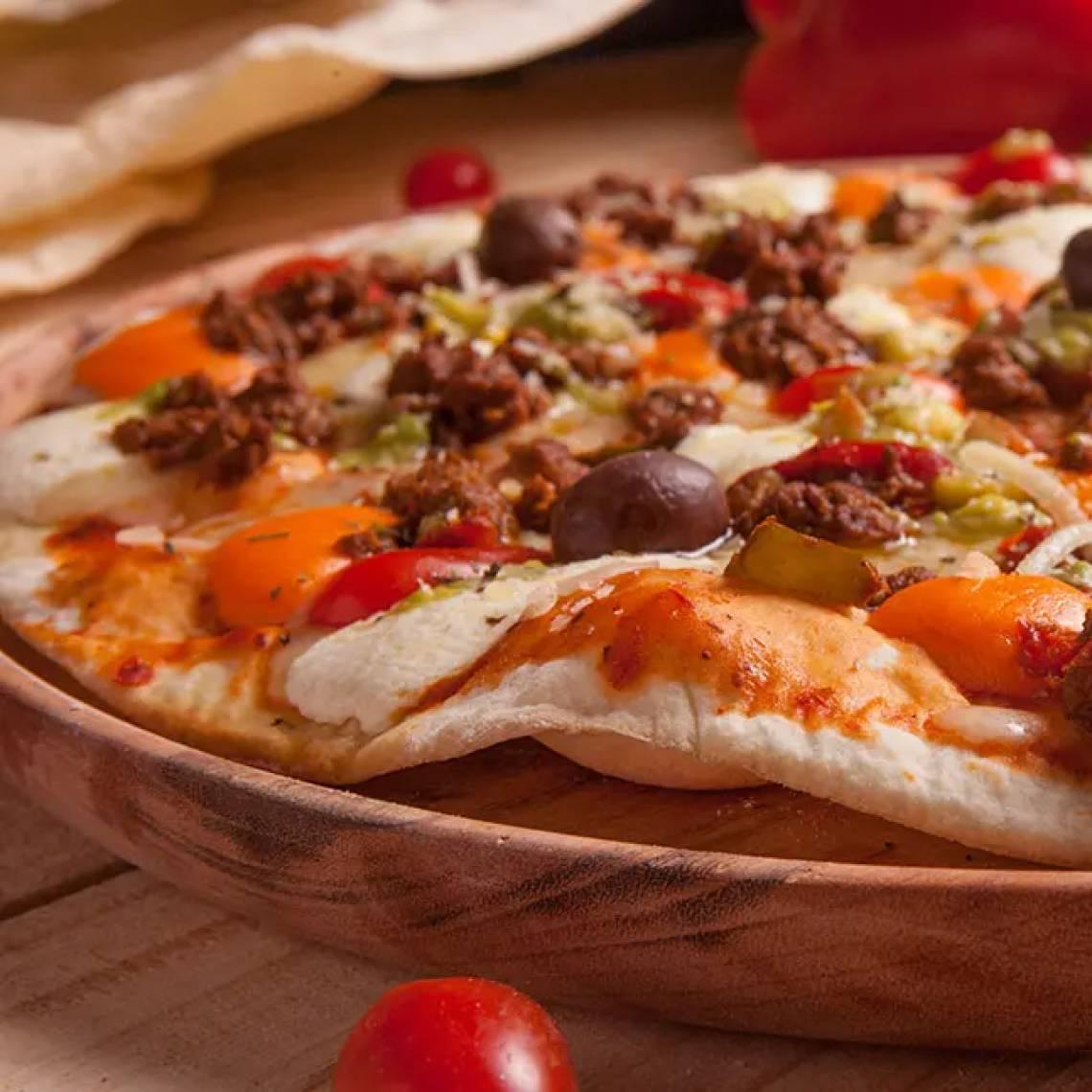 Pizza Floresta Mexicana, do Floresta Bar