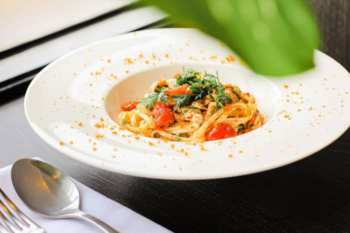 Vongole Cozze e Bottarga, umas das várias experiências gastronômicas do #LaBellaItaliaFortaleza