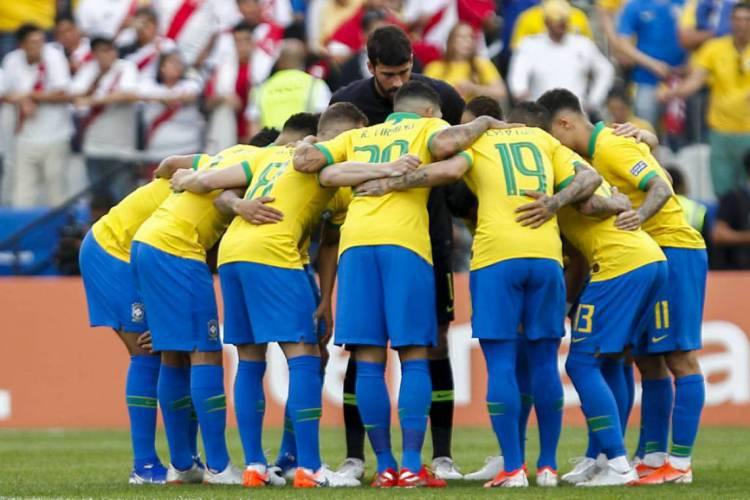 A Seleção Brasileira começará a disputa das eliminatórias para a Copa do Mundo de 2022 em setembro de 2020 (Foto: Miguel Schincariol/AFP)