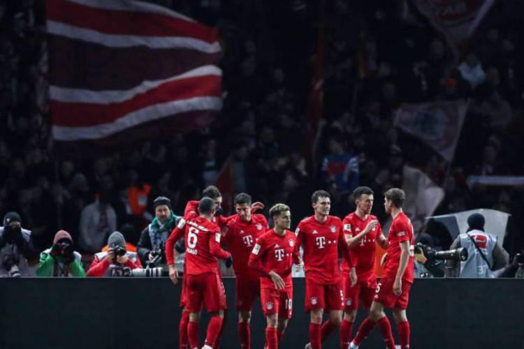 Campeonato Alemão, que parou com Bayern na liderança, será retomado hoje (Foto: Bayern de Munique/Divulgação)