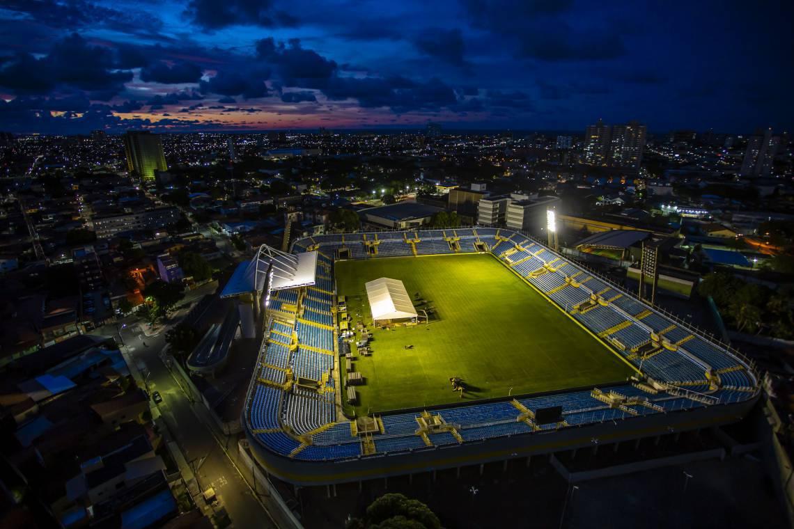 Estádio será espaço para 204 leitos ao todo