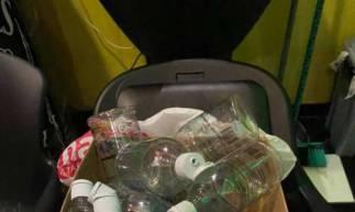 Polícia Civil fecha fábrica de falsificação de álcool gel em Maracanaú  (Foto: divulgação/Polícia Civil )