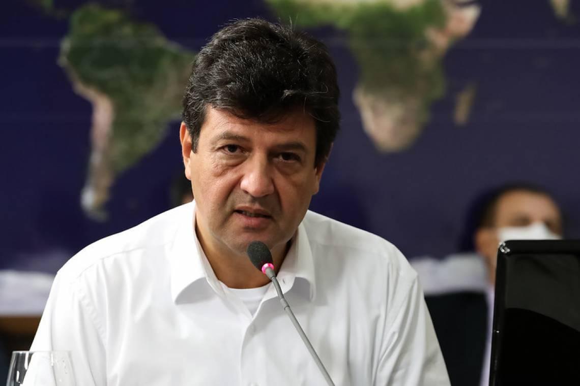 Luiz Henrique Mandetta, ministro da Saúde