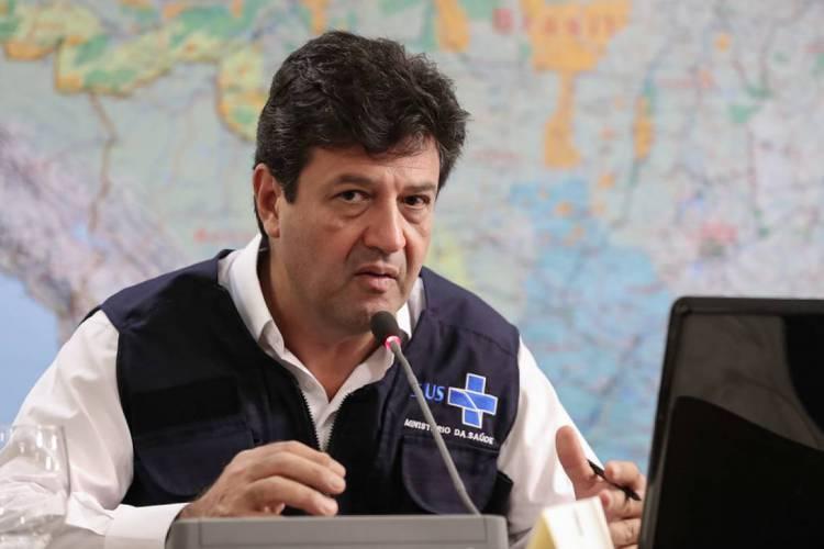 Ministro direcionou desculpas à imprensa após críticas (Foto: Marcos Correa/PR)