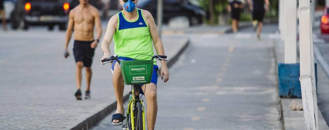 Atividade física ao ar livre deverá ocorrer apenas de forma individual (Foto: AURELIO ALVES)