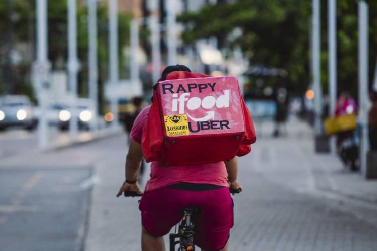 O texto foi em resposta as diversas demandas apresentadas pelos entregadores durante paralisação e manifestações pelo Brasil (Foto: AURELIO ALVES)
