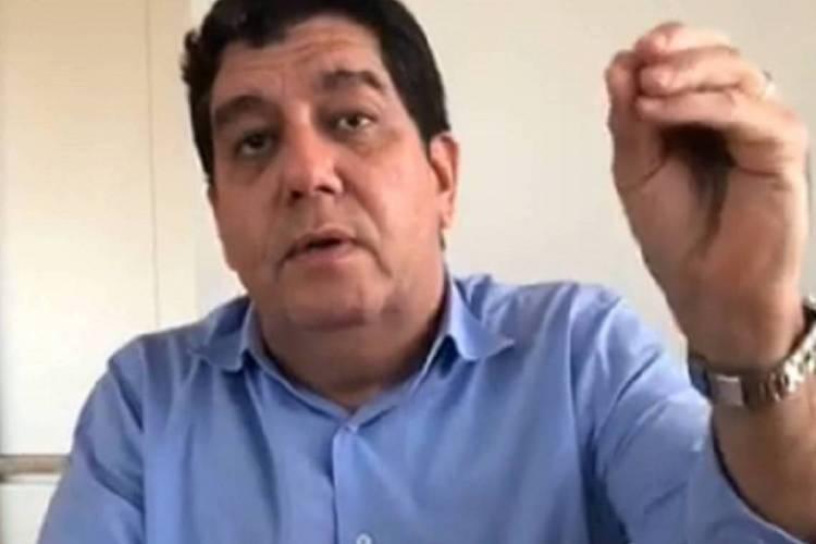 Secretário da Saúde do Ceará, Dr Cabeto (Foto: REPRODUÇÃO)