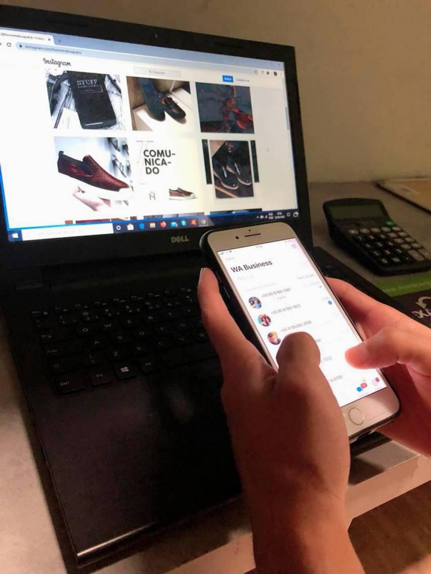 Marca Homem do Sapato foca nas vendas online e oferece frete grátis para Fortaleza