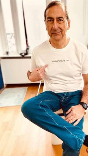 Prefeito chegou a publicar uma foto em seu perfil no Instagram apoiando a campanha. A blusa bordada mostra o nome do movimento