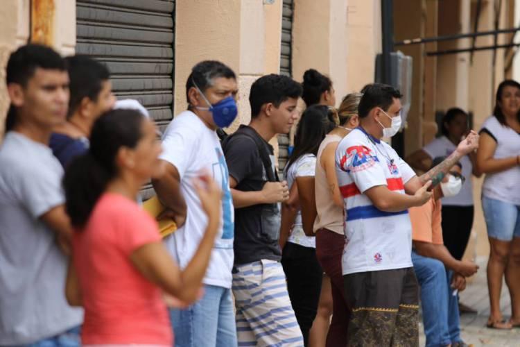 SSPDS:3.891 ocorrências referentes a aglomerações de pessoas (Foto: Fabio Lima)