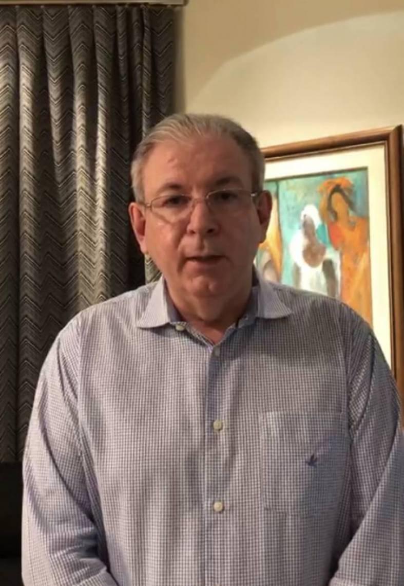 Ricardo Cavalcante gravou vídeo para os industrias após reunião com Camilo Santana e outros líderes