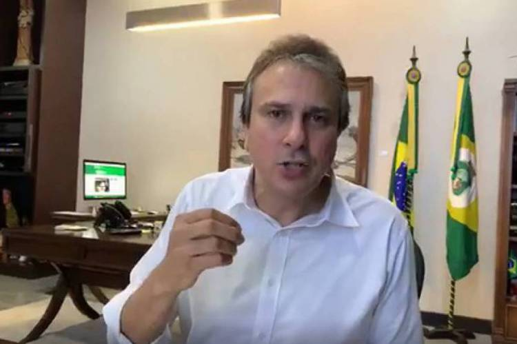 Camilo em live no Facebook