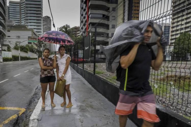 Fortaleza, Ceará Brasil 30.03.2020  Chuva em Fortaleza (Fco Fontenele/O POVO