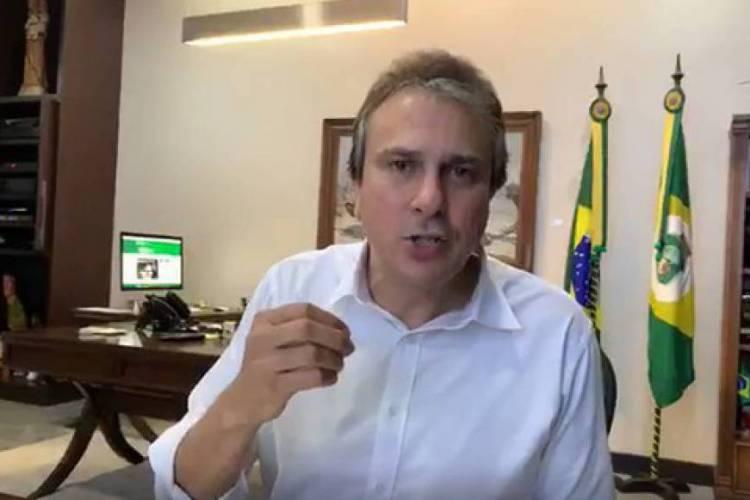 Camilo em live no Facebook (Foto: Reprodução/ Facebook)