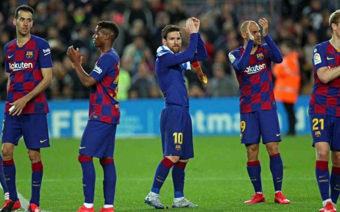 Barcelona e jogadores chegaram a um acordo de redução salarial