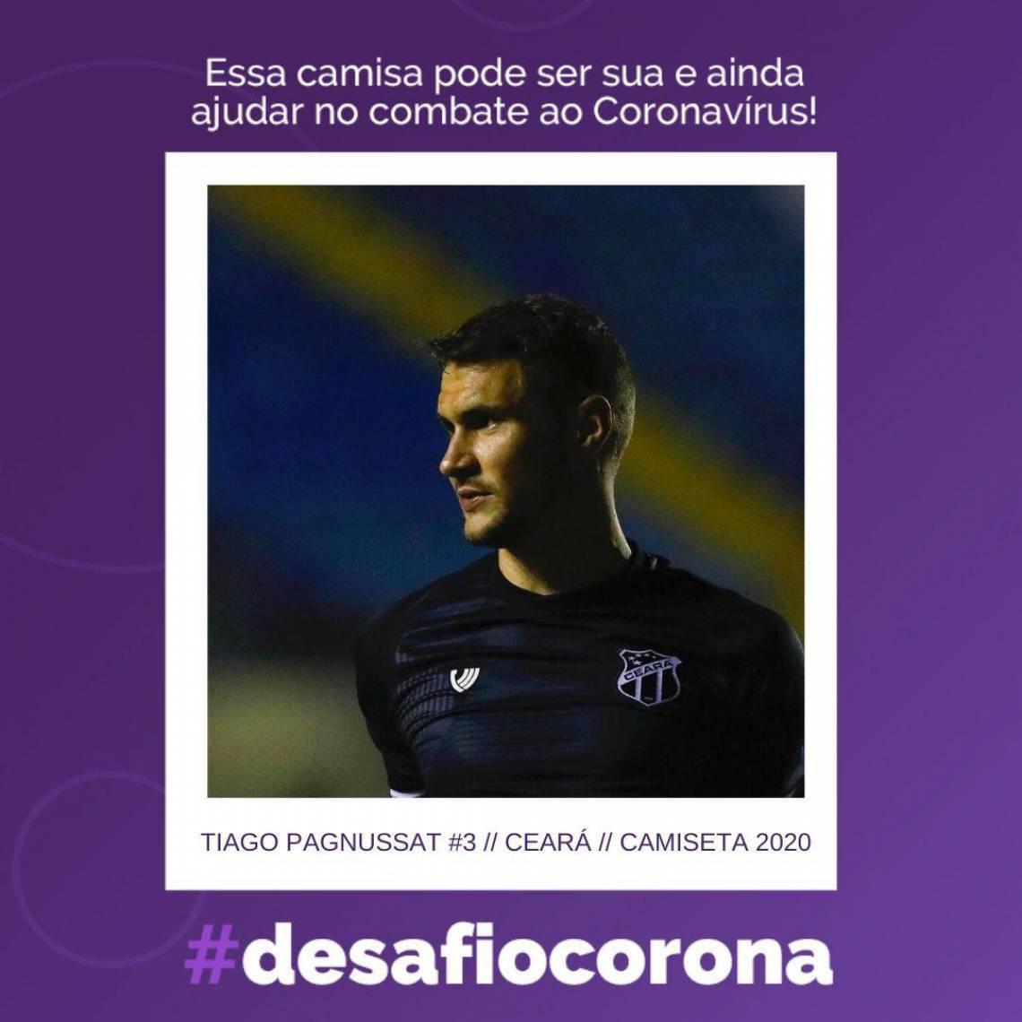 Tiago Pagnussat falou ao Esportes O POVO que não pensou duas vezes em aceitar participar da campanha