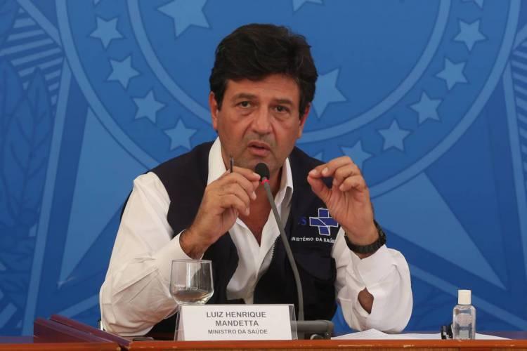 Ex-ministro da Saúde, Luiz Henrique Mandetta, fez as declarações em entrevista (Foto: Marcello Casal Jr/Agência Brasil)