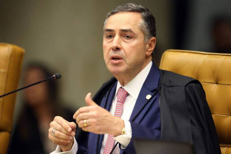 Luís Roberto Barroso, ministro do Supremo Tribunal Federal (STF) (Foto: Nelson Jr. / SCO / STF)