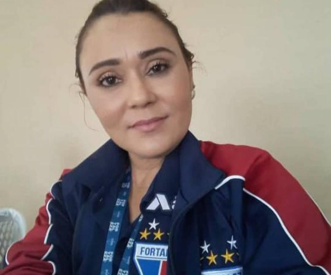 Nara Alciane, psicóloga e coordenadora do RH do Fortaleza