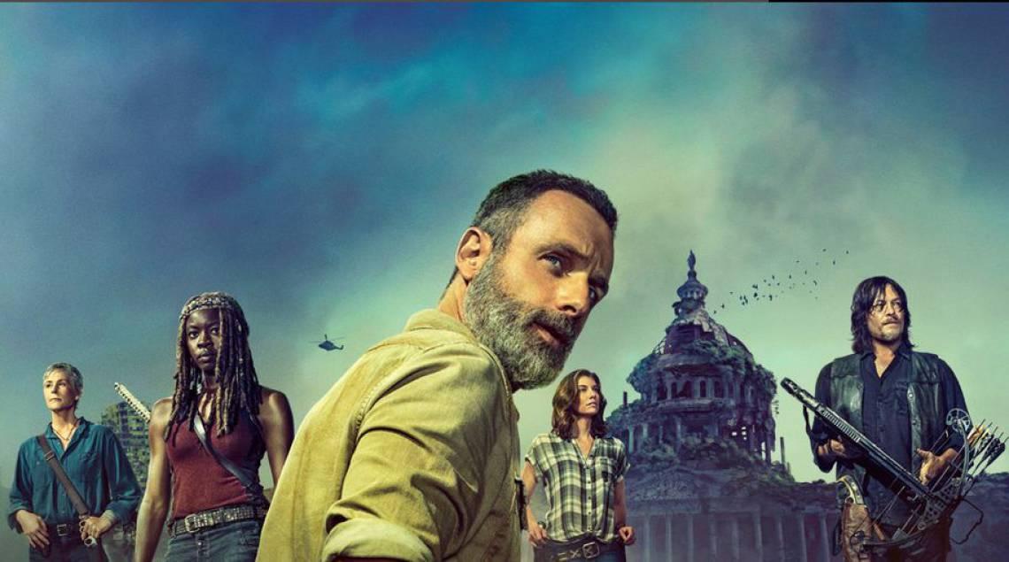 A série Walking Dead chega à sétima temporada neste mês de abril, na Netflix