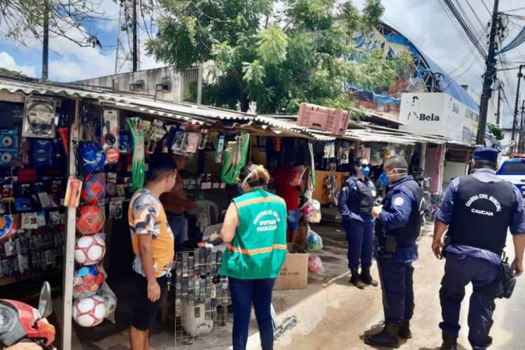 Sete municípios do Ceará não poderão retomar comércio e serviços nesta segunda-feira, 1