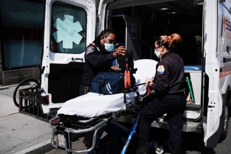Estados Unidos, particularmente Nova York, se tornaram o epicentro de casos do coronavírus no mundo (Foto: Spencer Platt/Getty Images/AFP)
