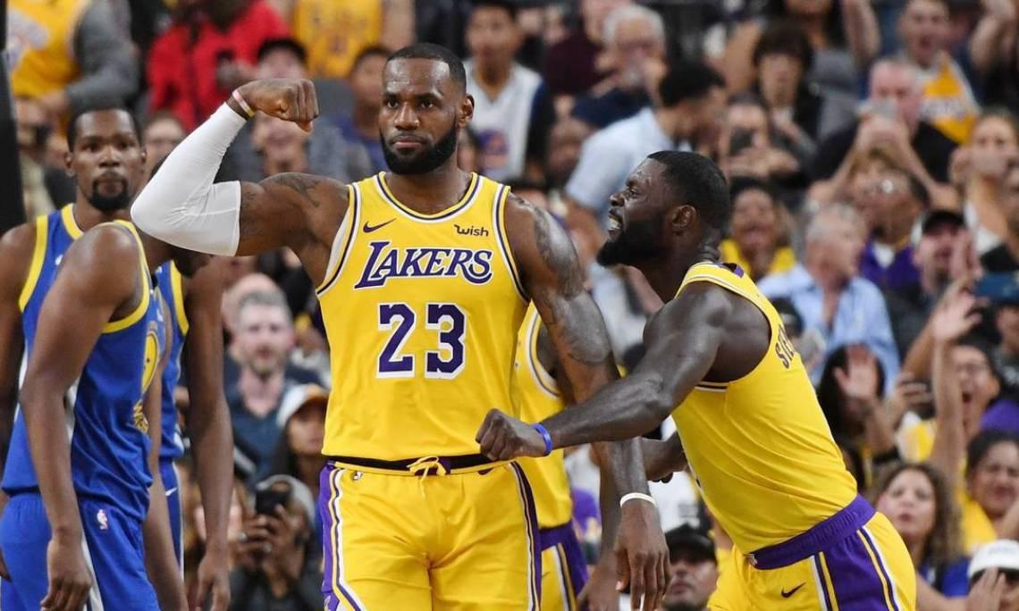 LeBron James é um dos astros da franquia Los Angeles Lakers