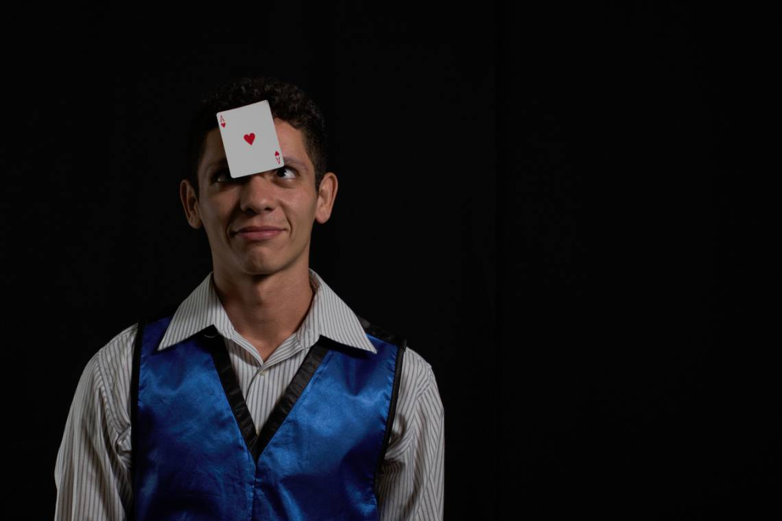 Mágico Jeffy é uma das atrações do evento do Fecomércio