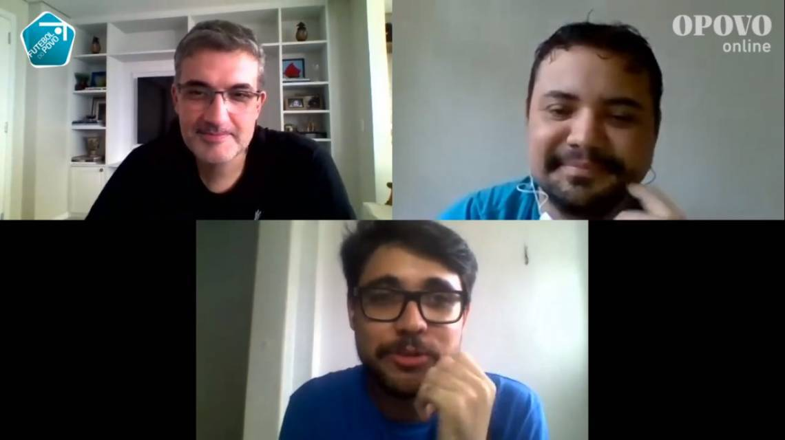 Edição desta terça contou com Fernando Graziani, Thiago Minhoca e Lucas Mota