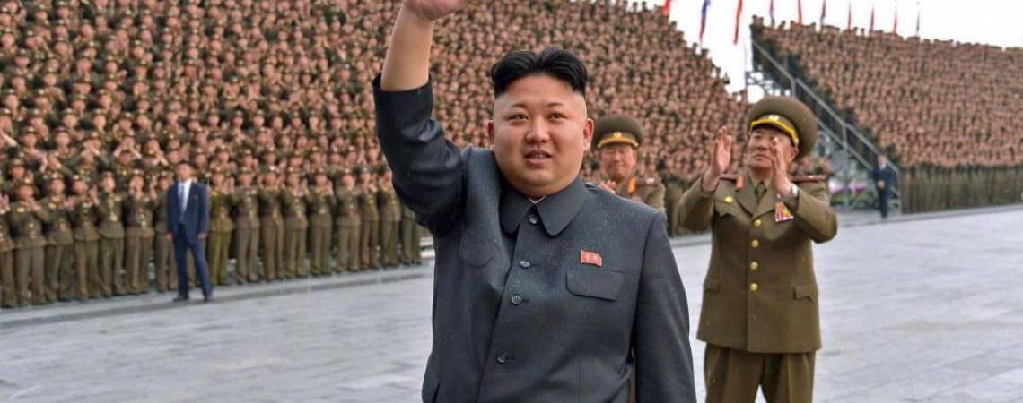 Presidente da Coreia do Norte, Kim Jong-un (Foto: Gov. North Korean)