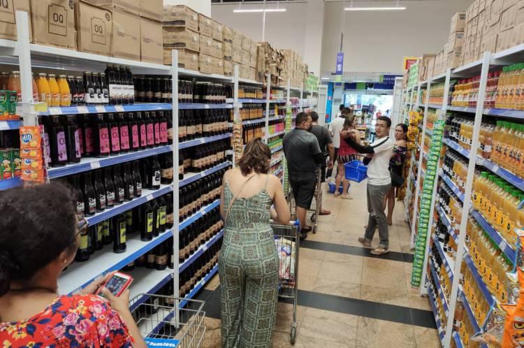 Alimentos registraram alta, de acordo com o IPCA-15 de abril