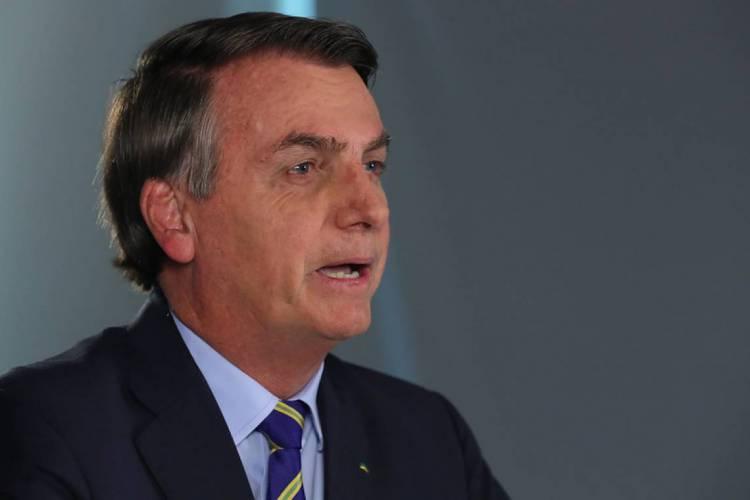 Bolsonaro defende comércio e fronteira abertos e diz que já estaria conversando com Sergio Moro sobre isto (Foto: Isac Nóbrega / PR)