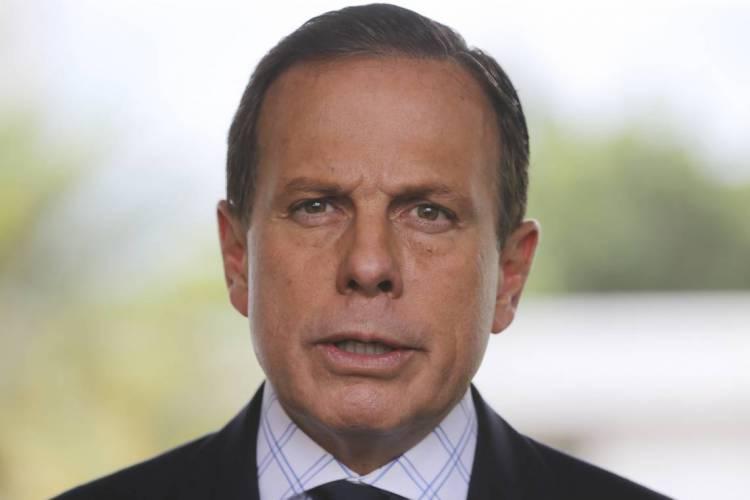 O governador de São Paulo, João Doria (Foto: Valter Campanato/Agência Brasil)