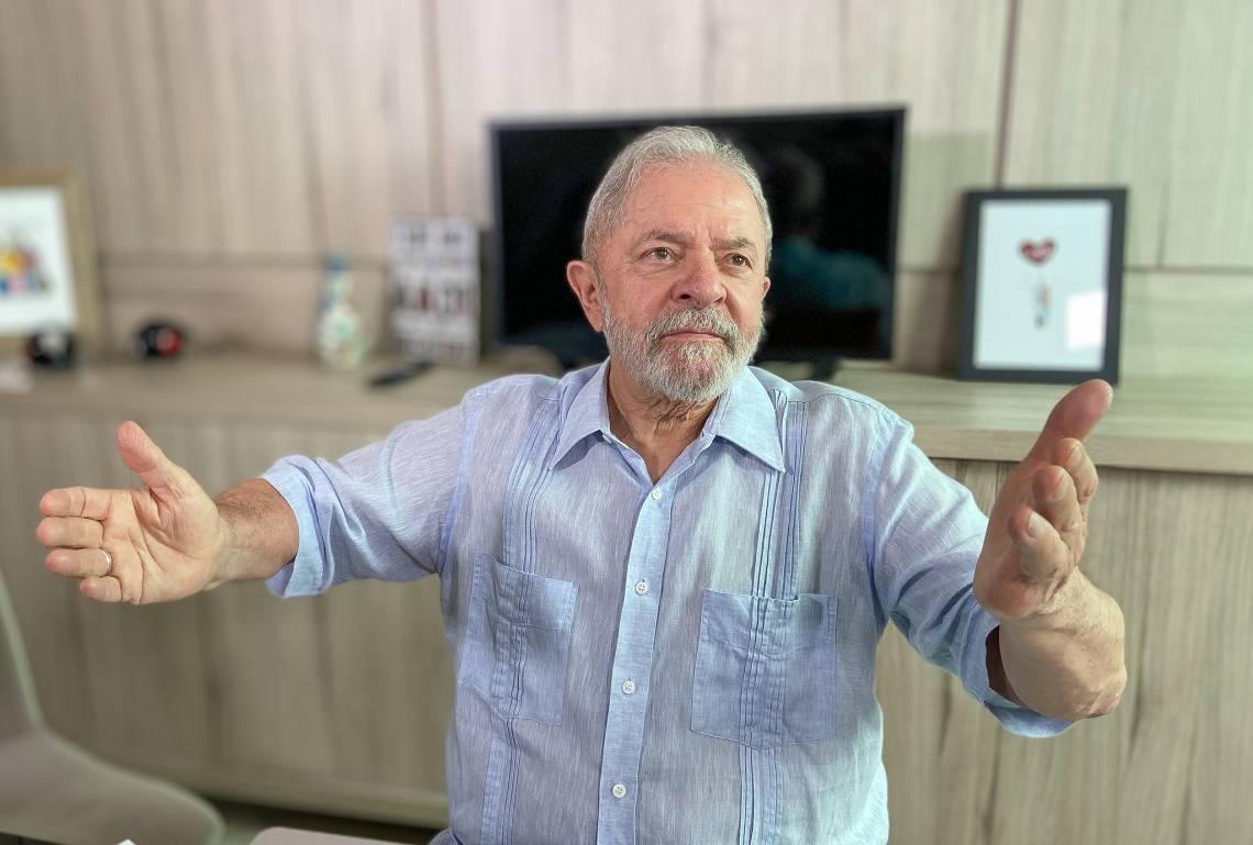 Ex-presidente luís inácio Lula da Silva.