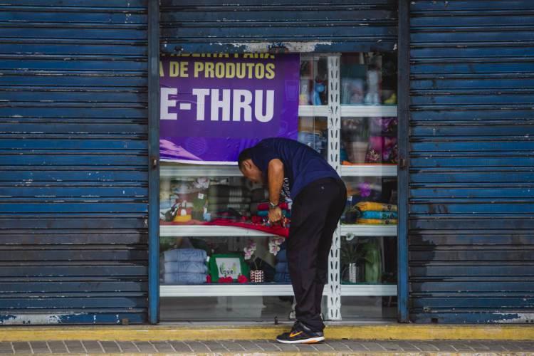 Loja no Centro de Fortaleza. Pelo menos R$ 100 bilhões serão obrigatoriamente direcionados a empresas menores, com receita bruta anual de até R$ 100 milhões (Foto: Aurélio Alves)