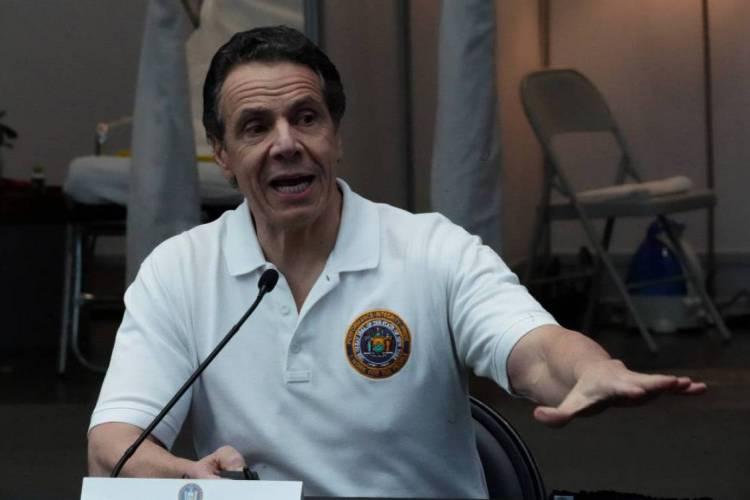 Andrew Cuomo, governador de Nova York (Foto: Bryan R. Smith / AFP)