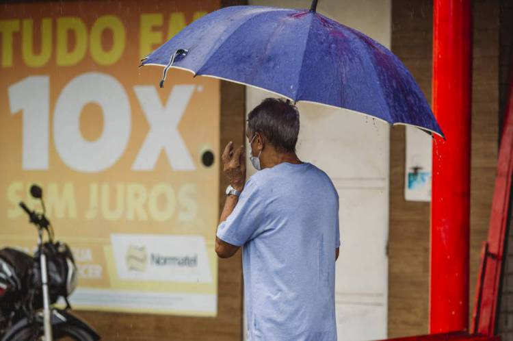 O estado do Ceará tem condição favorável para chuva até a próxima quarta-feira, segundo informações da Funceme(Foto: Aurelio Alves/O POVO)