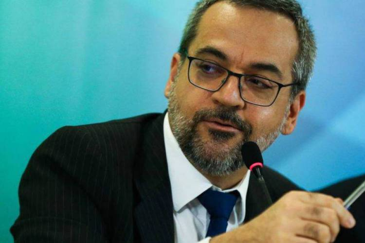 O ministro da Educacao, Abraham Weintraub (Foto: Agência Brasil)