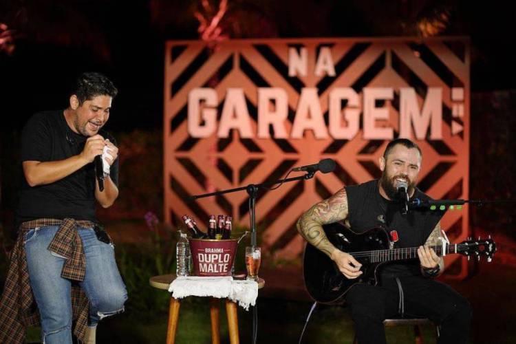 Live de Jorge e Mateus no último fim de semana alcançou mais de 3 milhões de visualizações simultâneas (Foto: Reprodução)