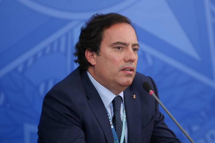 Pedro Guimarães, presidente da Caixa (Foto: Júlio Nascimento/PR)