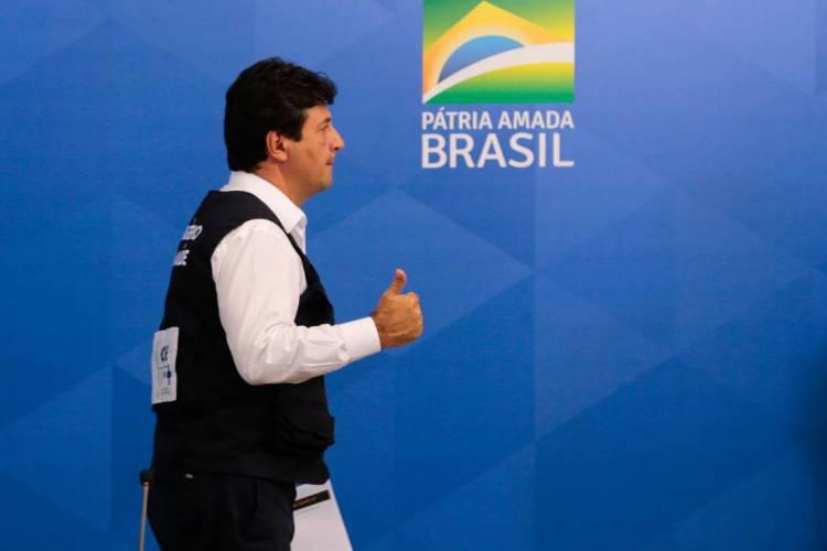 Luiz Henrique Mandetta  foi demitido do Ministério da Saúde (Foto: Marcello Casal Jr/Agência Brasil)