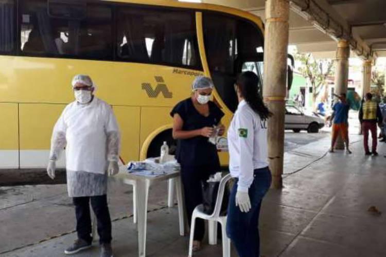 Viagens deste tipo são proibidas por decreto estadual  (Foto: Divulgação/SSPDS)