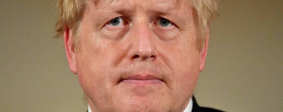 Boris Johnson, premiê do Reino Unido (Foto: Leon Neal / POOL / AFP)
